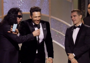 James Franco Blocked Tommy Wiseau From Hijacking His Golden Globes Award Speech