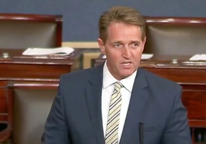 Jeff Flake Condemns Trump's Attacks On The Press And Compares Him To Stalin In A Stirring Speech