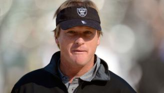 The Raiders Are Reportedly Giving Jon Gruden A 10-Year Contract Worth Close To $100 Million