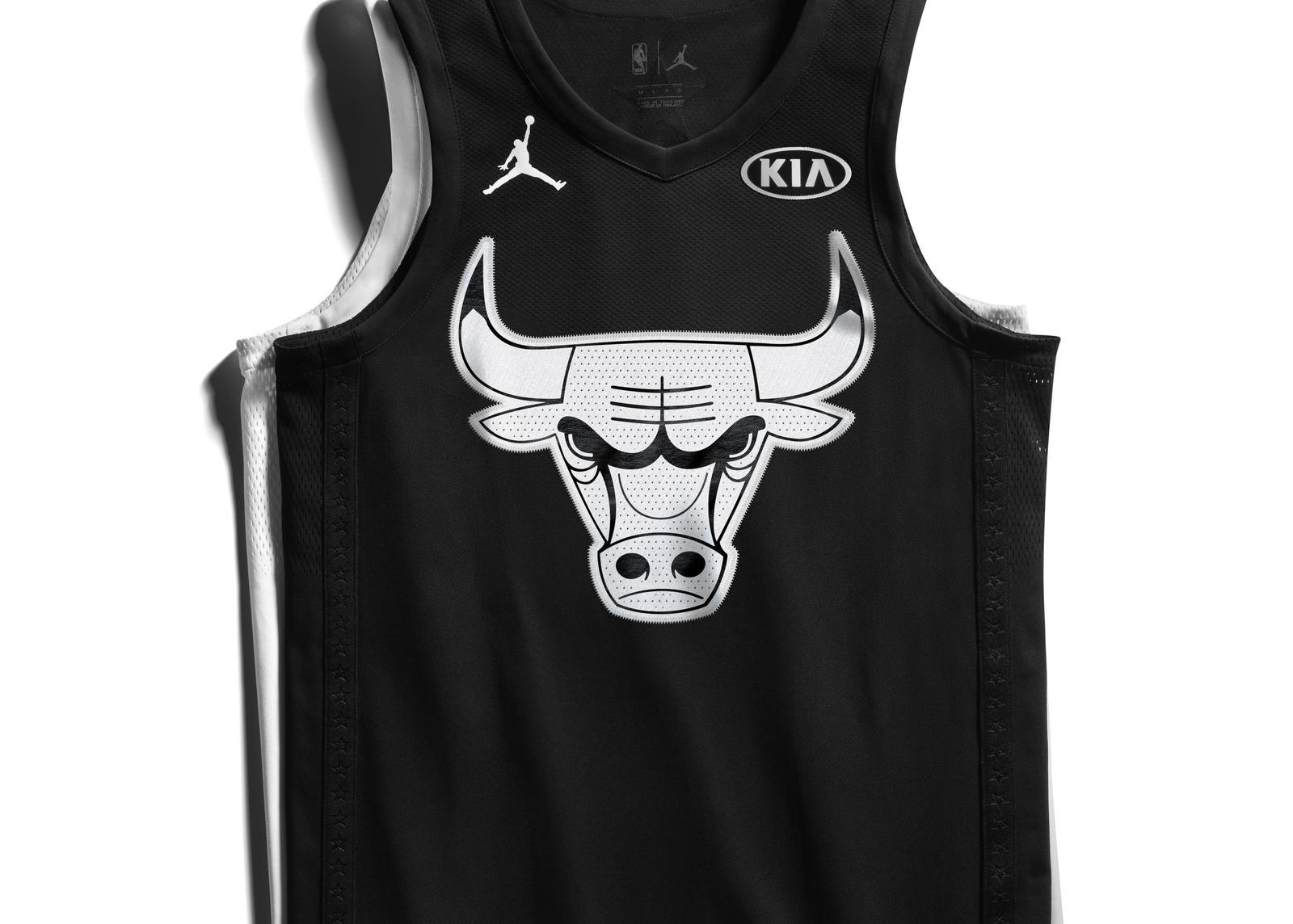 best website a6359 ffc69 Jordan Unveils The 2018 NBA All-Star Uniforms And Four Retro ...
