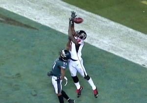 The Eagles Defense Took Down The Falcons With A Thrilling Red Zone Stand
