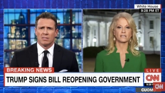 CNN's Chris Cuomo Slams Kellyanne Conway For Defending Trump's 'Insulting' Women's March Tweet