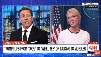 Kellyanne Conway's Straight-Faced Lie To CNN's Chris Cuomo: 'Nobody Here Talks About Hillary Clinton'