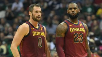 Kevin Love Hasn't Been Assured He'll Be Selected To LeBron James' All-Star Team