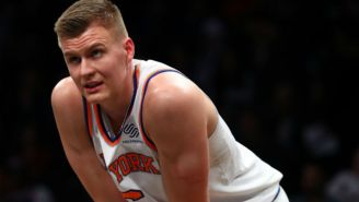 Kristaps Porzingis Told The Knicks He'd Go Back To Europe If He Wasn't Traded In Seven Days