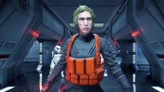 A 'Star Wars: Battlefront II' Mod Lets You Play As 'Matt,' Kylo Ren's Undercover Boss From 'SNL'