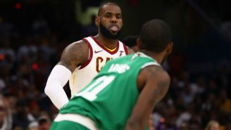 LeBron James Made The 'Easy Choice' And Picked Kyrie Irving For His All-Star Squad
