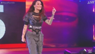 Lita Paid Tribute To #TimesUp And Fallen Wrestlers In A Surprise Royal Rumble Appearance