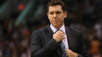 Luke Walton Would 'Love To Watch' Someone Try And Coach This Warriors Team