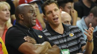 Luke Walton And Magic Johnson Apparently Haven't Talked In Weeks