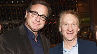 Bill Maher Has Recreated Al Franken's Unfortunate 2006 USO Tour Photo With Bob Saget