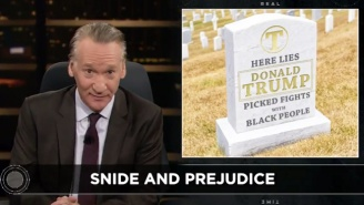 Bill Maher Calls Out Trump: He 'Loves To Pick Fights With Black People'