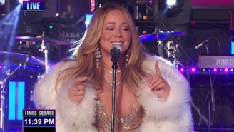 Mariah Carey Killed Her Latest New Year's Eve Performance And Demanded Some Hot Tea For Her Troubles