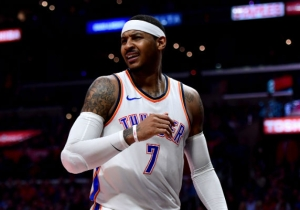 Carmelo Anthony Is 'Done' With NBA Officials After Russell Westbrook's Latest Ejection