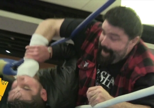 WWE Legend Mick Foley Fought The Walking Dead's Negan At A Comic Con, Because Reasons