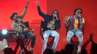Migos Celebrated The Release Of 'Culture II' With A Casually Hype Late Night 'Stir Fry' Performance