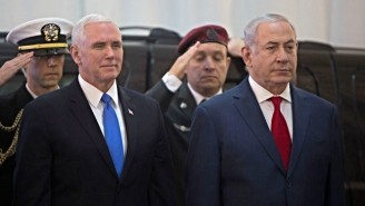 Mike Pence's Israeli Parliament Address Was Interrupted By Arab Members Protesting The Jerusalem Embassy