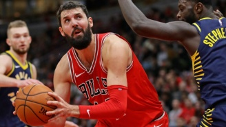 The Jazz And Bulls Have Reportedly Discussed A Derrick Favors For Nikola Mirotic Swap