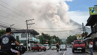 A Philippines Volcano Has Exploded, Prompting Warnings Of An 'Imminent' Hazardous Eruption