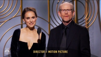Natalie Portman's Savage Intro For The 'Best Director' Globe Caught Everyone Off Guard