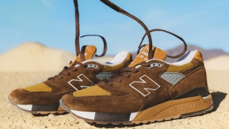 New Balance And J. Crew Drop National Park-Inspired Sneakers