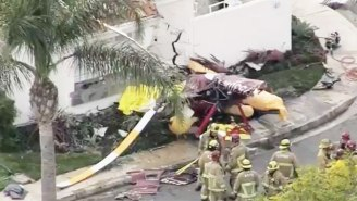 A Helicopter Has Crashed Into A Home In Newport Beach, California, Killing Multiple People