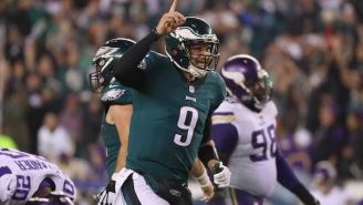 Nick Foles Lit Up The Vikings To Set Up A Patriots-Eagles Super Bowl