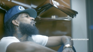 Nipsey Hussle Goes From Rambunctious To Subdued In The 'Grinding All My Life / Stucc In The Grind' Videos