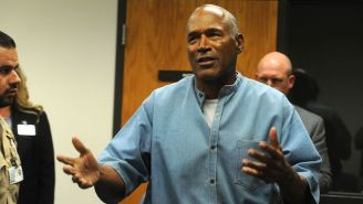 O.J. Simpson Went To A Bills Bar In Vegas To Watch Their Playoff Game