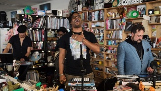 Open Mike Eagle's 'Tiny Desk' Concert Is More Proof Why He's Your Favorite Rapper's Favorite Rapper