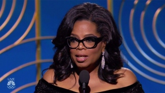 Oprah Winfrey Turned Her Golden Globes Acceptance Speech Into A Stirring #MeToo Sermon