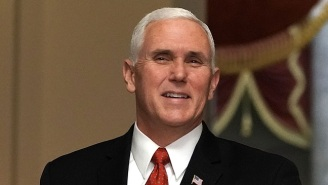 A Reportedly 'Red-Faced' Mike Pence Listened To A Pastor Denounce Trump's 'Sh*thole' Comment On Sunday