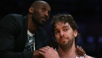 Kobe Bryant And Luke Walton Think The Lakers Should Retire Pau Gasol's Number