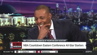Paul Pierce Tried To Jab Back At Jalen Rose's 'Petty' Comment With An 81-Point Joke That Fell Flat