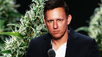 A Peter Thiel-Backed Firm Is Making A Huge Weed Investment In Defiance Of Jeff Sessions' Opposition