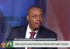 Jalen Rose Called Paul Pierce 'Petty' To His Face For Blocking Isaiah Thomas' Tribute Video