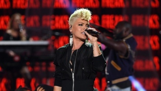 Pink Will Get The Party Started At Super Bowl LII By Singing The National Anthem