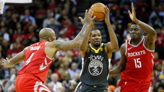 P.J. Tucker Thinks The Rockets Have The 'Perfect Team' To Challenge The Warriors
