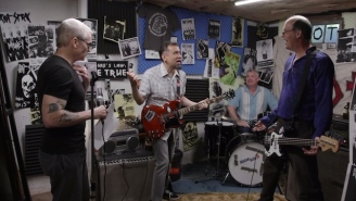 Fred Armisen Reunites With 'Former Bandmates' Henry Rollins And Krist Novoselic On 'Portlandia'