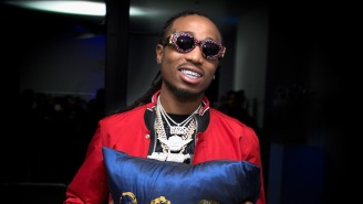 Quavo Says He Can't Sleep Because He's Too Busy Mixing 'Culture 2'