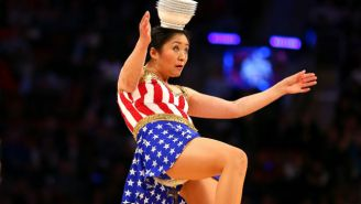 Beloved NBA Halftime Act Red Panda's 7-Foot Unicycle Was Stolen At An Airport