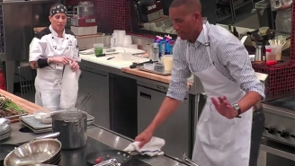 Reggie Miller Serves Up Some Of The Worst Trash Talk Of His Life In This 'Hell's Kitchen' Clip