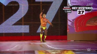 Rey Mysterio Made A Surprise Return To WWE At The Royal Rumble