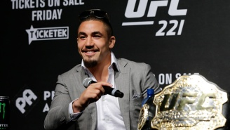 The UFC Just Took Its First Big Hit Of The Year As Robert Whittaker Is Off UFC 221
