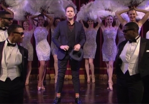 Sam Rockwell Was In A Dancing Mood During His 'SNL' Monologue