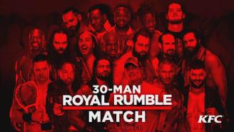 WWE Royal Rumble 2018 Results
