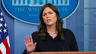 Sarah Sanders Accuses A Reporter Of Claiming Trump Is 'Complicit' In The Kentucky School Shooting