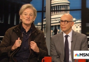 Bill Murray Returns To 'SNL' To Play The New, Improved, Horrifying Steve Bannon