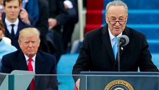 Chuck Schumer Withdraws Democrats' Offer To Help Fund President Trump's Border Wall