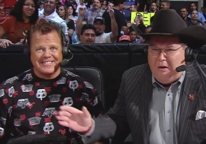 Jim Ross And Jerry Lawler Will Reunite As The Announcing Team For WWE Raw 25